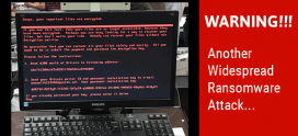 """ALERT ! widespread ransomware known as """"Petya"""""""